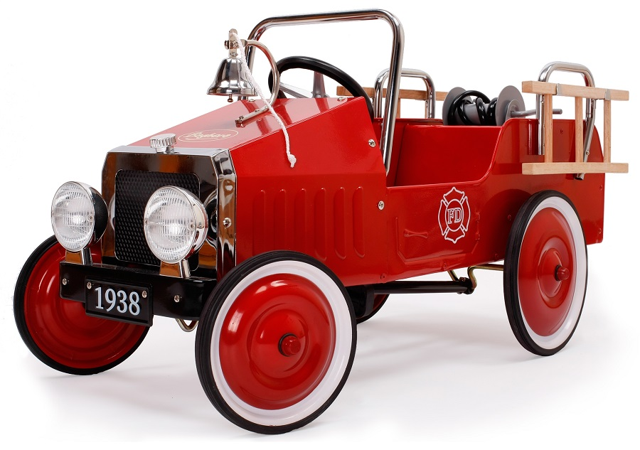 Fire Truck Pedal Car: Pedal Fire Engines - Pedalcar