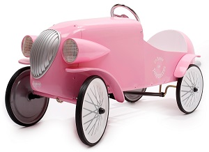Pink Pedal Car - Click here to Enlarge Picture