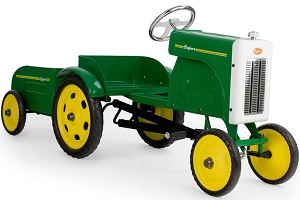 Pedal Tractor with Trailer - Click here to Enlarge Picture