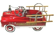 Click here to view all Fire Engine Pedal Cars