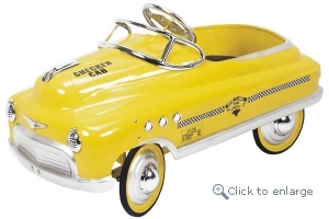 Comet Taxi Pedal Car - Click here to Enlarge Picture