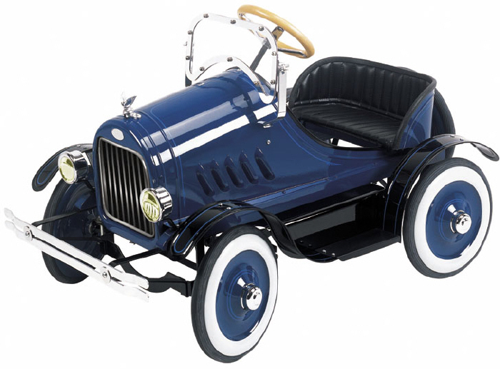Model T Pedal Car Blue - Click on image to enlarge