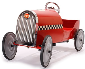 Red Legend Pedal Car - Click on image to enlarge