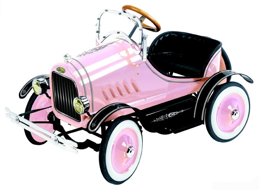 Model T Pedal Car Pink - Click on image to enlarge